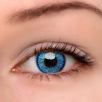 Eyeshinning Elf Blue Colored Contact Lenses