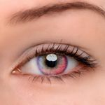 Eyeshinning Luna Pink Colored Contact Lenses