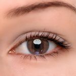 Eyeshinning Amber Brown Colored Contact Lenses