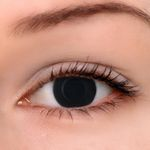 Eyeshinning Blind Black Colored Contact Lenses