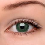 Eyeshinning Bee Green Colored Contact Lenses