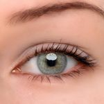 Eyeshinning Pearl Grey Colored Contact Lenses