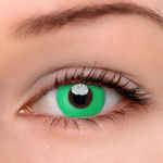 Eyeshinning Pure Green Colored Contact Lenses