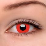 Eyeshinning Devil Red Colored Contact Lenses
