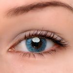 Eyeshinning Crystal Ball Blue Colored Contact Lenses