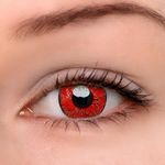 Eyeshinning Dangerous Ruby Colored Contact Lenses