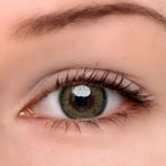 Eyeshinning Blooming Brown-Green Colored Contact Lenses