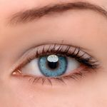 Eyeshinning Honey Snow Blue Colored Contact Lenses