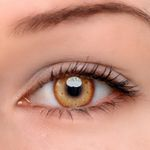 Eyeshinning Honey Snow Brown Colored Contact Lenses