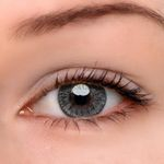 Eyeshinning Floweriness Grey Colored Contact Lenses