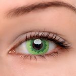 Eyeshinning Ink Wash Green Colored Contact Lenses