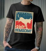 Vote Democrat Kicking Donkey Vintage Style US Election 2020