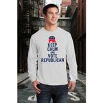 Keep Calm And Vote Republican US Election Vote 2020