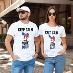 Keep Calm And Vote Blue Democrat US Election 2020