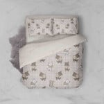 3d Cat Kitty Lattice Bedding Set Bedroom Decor