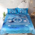 Watercolor Car Blue Bedding Set Bedroom Decor