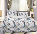 3d Blue Flowers Leaves Bedding Set Bedroom Decor
