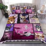 Chihuahua Emotions Bedding Set Bedroom Decor