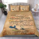 Dragonfly Gift For Husband I Love You Always Bedding Set Bedroom Decor