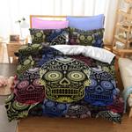 Sugar Beauty Skull Bedding Set Bedroom Decor