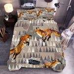 3d Wolf Pine Trees Bedding Set Bedroom Decor