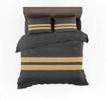 Pilot Epaulette Two Lines Designed Bedding Set Bedroom Decor
