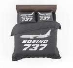 The Boeing 737 Designed Bedding Set Bedroom Decor