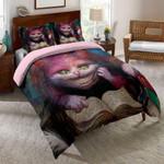 Smiley Cat Printed Bedding Set Bedroom Decor