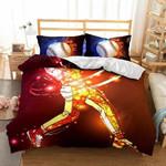 3d Baseball Sportsman Pattern Bedding Set Bedroom Decor
