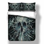 Skull Cool Printed Bedding Set Bedroom Decor