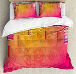 New Year Festivities Bedding Set Bedroom Decor