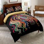 Rainbow Horse Pattern Printed Bedding Set Bedroom Decor