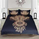 Golden Owl Dreamcatcher Bedding Set Bedroom Decor