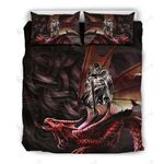 Wales Dragon With Celtic Bedding Set Bedroom Decor