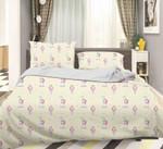 3d Unicorn Yellow Bedding Set Bedroom Decor