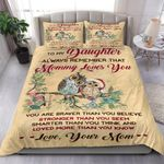 Owl To My Daughter Mommy Loves You Bedding Set Bedroom Decor