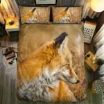 Fox King Of Area Printed Bedding Set Bedroom Decor