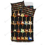 Colorful Guitar Giving Music Lovers Bedding Set Bedroom Decor