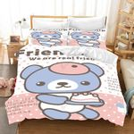 3d Cute Style Bear We Are Real Friend Bedding Set Bedroom Decor
