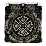 Viking Symbol Brave Faith Live Bedding Set Bedroom Decor