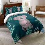 Save Koala Printed Bedding Set Bedroom Decor