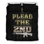I Plead The 2nd Gun Bedding Set Bedroom Decor