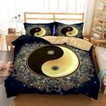 Yin And Yang Taiji Printed Bedding Set Bedroom Decor
