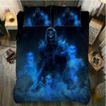 Skull Dark Death Printed Bedding Set Bedroom Decor