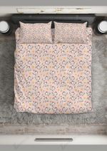 Pink Pattern Chicken Singing A Song Printed Bedding Set Bedroom Decor