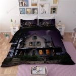 Haunted House Halloween Duvet Bedding Set