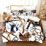 3d Color Harness Decoration Effect Comfortable Bedding Set Bedroom Decor