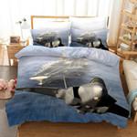 3d Sky Fighter Bedding Set Bedroom Decor