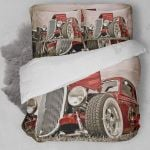 Hot Rod Car Bedding Set Bedroom Decor