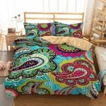 Paisley Design Colorful Printed Bedding Set Bedroom Decor